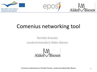 Comenius networking  tool