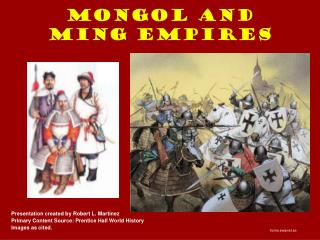 Mongol and Ming Empires