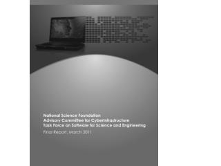 NSF Task Force on Software for Science and Engineering