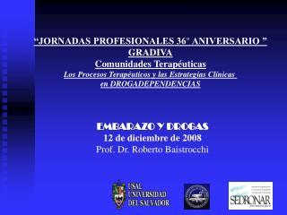 �JORNADAS PROFESIONALES 36� ANIVERSARIO � GRADIVA Comunidades Terap�uticas