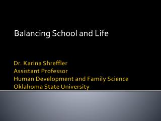 Balancing School and Life