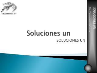 Soluciones un