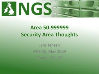Area 50.999999 Security Area Thoughts