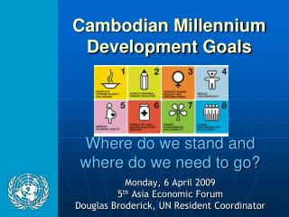 Cambodian Millennium  Development Goals