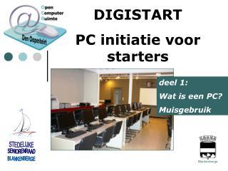 DIGISTART PC initiatie voor starters
