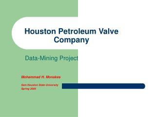 Houston Petroleum Valve Company