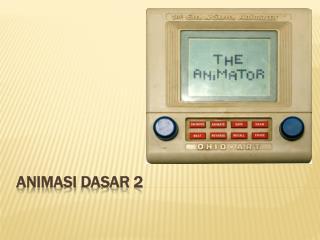 Ppt Belajar Membuat Animasi Video Film Dan Musik Powerpoint Presentation Id 7345510