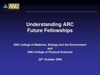 Understanding ARC Future Fellowships