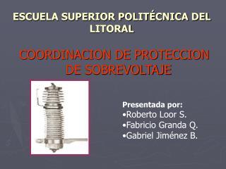 ESCUELA SUPERIOR POLIT CNICA DEL LITORAL