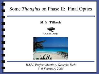 M. S. Tillack