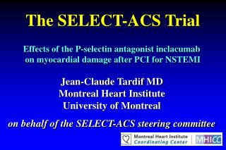 The SELECT-ACS Trial