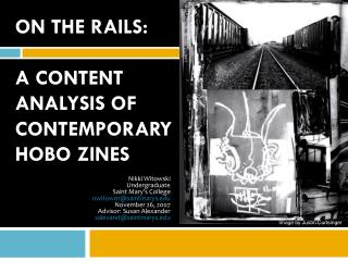 On the Rails: A Content  Analysis of Contemporary  Hobo  zines