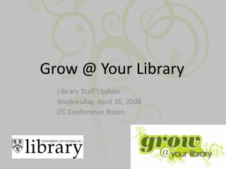 Grow @ Your Library