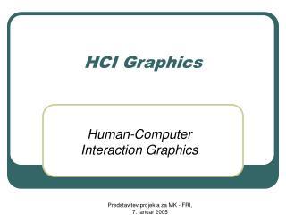 HCI  Graphics