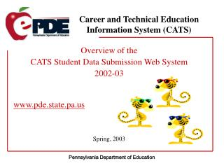 Career and Technical Education Information System (CATS)