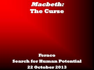 Macbeth:  The Curse