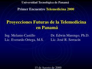 Primer Encuentro Telemedicina 2000