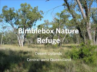Bimblebox Nature Refuge