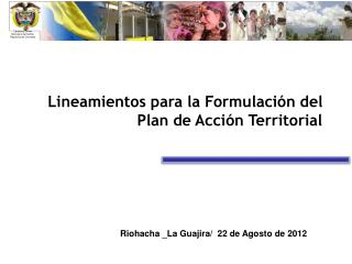 Libertad y Orden Ministerio del  Interior Rep�blica  de Colombia