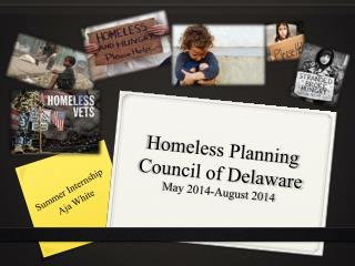Homeless Planning Council of Delaware May 2014-August 2014