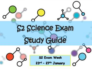 S2 Science Exam  Study Guide