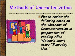 Methods of Characterization