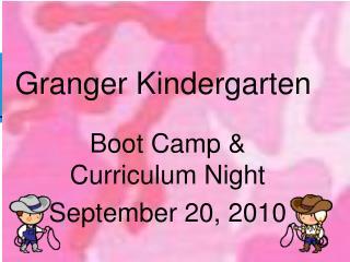 Granger Kindergarten
