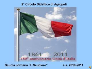 """Scuola primaria """"L.Scudiero""""                  a.s. 2010-2011"""