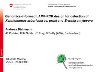 30-Month Meeting Zurich – 22.10.2012