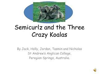 Semicurlz and the Three Crazy Koalas