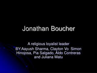 Jonathan Boucher