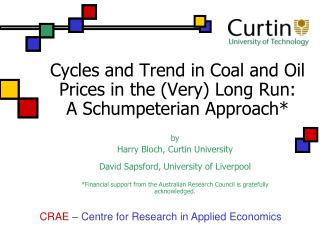 Cycles and Trend in Coal and Oil Prices in the (Very) Long Run:  A Schumpeterian Approach*