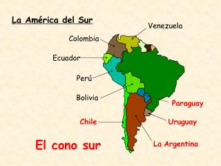 La América del Sur