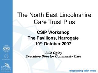 The North East Lincolnshire Care Trust Plus