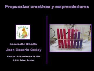 Propuestas creativas y emprendedoras