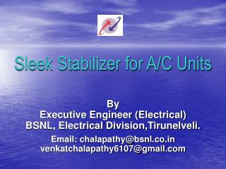 Sleek Stabilizer for A/C Units