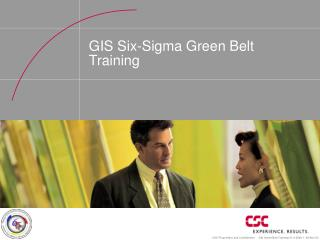 GIS Six-Sigma Green Belt Training