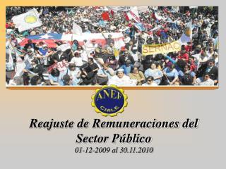 Reajuste de Remuneraciones del Sector Público  01-12-2009 al 30.11.2010