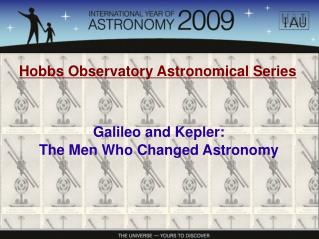 Hobbs Observatory Astronomical Series