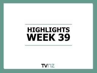 HIGHLIGHTS WEEK 39