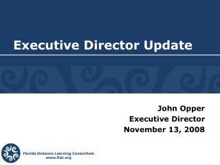 Executive Director Update