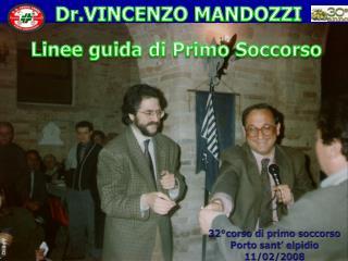Dr.VINCENZO  MANDOZZI