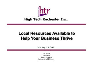 High Tech Rochester Inc.