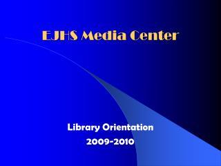 EJHS Media Center