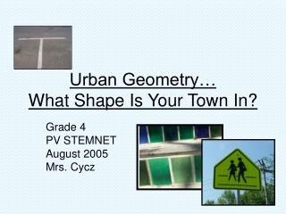 Urban Geometry… What Shape Is Your Town In?