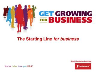 The Starting Line  for business