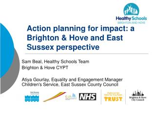 Action planning for impact: a Brighton & Hove and East Sussex perspective