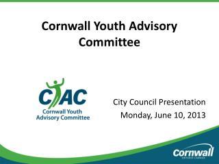 Cornwall Youth Advisory Committee