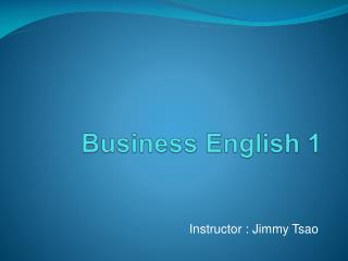 Business English 1