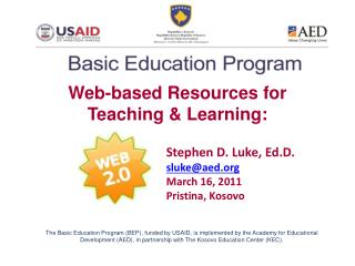 Web-based Resources for Teaching & Learning: